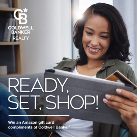 Win  an Amazon Depot Gift Card compliments of Coldwell Banker