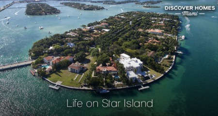 Star Island, Miami Beach: Mansions & Celebrity Residents