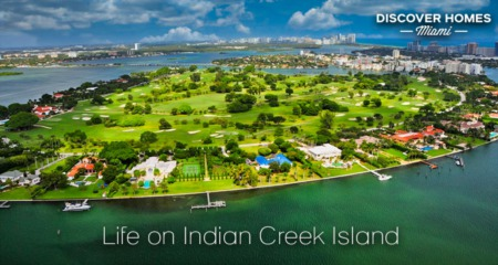 Indian Creek, Miami Beach, FL: Private Island Community