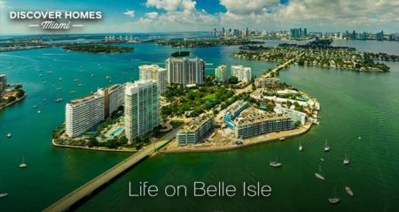 Belle Isle, Miami Beach, FL: Bayfront Island Community