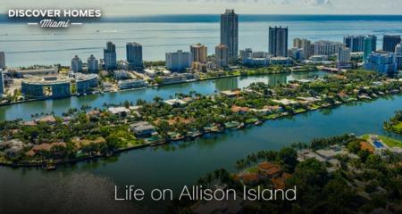 Allison Island, Miami Beach, FL: Boutique Private Island