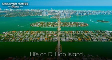 Di Lido Island, Miami Beach, FL: Biscayne Bay Luxury Island