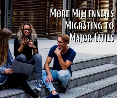 More Millennials Migrating to Major Cities