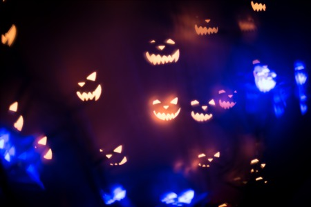 Local Halloween Light Show Returns For Charity