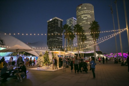 Celebrate The Holiday Season Downtown At The Winter Village at Curtis Hixon Park