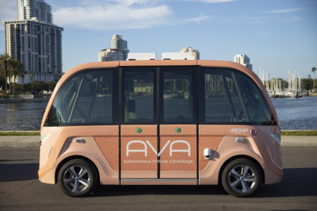 All Aboard The New Self-Driving Shuttle