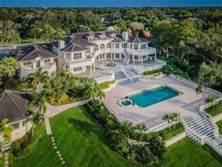 The Rinker House Is Now For Sale In Tampa Bay