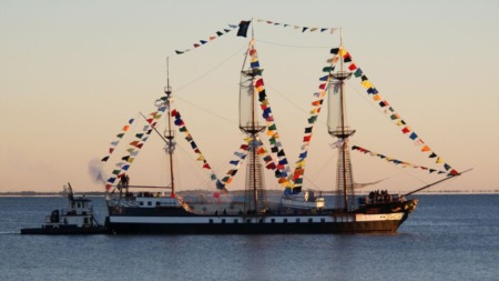 Gasparilla Pirate Ship Will Host Laser Light And Pyrotechnics Show
