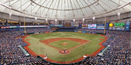 Tropicana Field Is Welcoming Fans Back