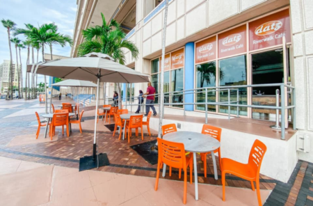Datz Riverwalk Cafe Now Open At The Tampa Bay Convention Center!