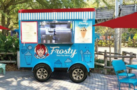 Wendy's Frosty Cart Now Serves ZooTampa!