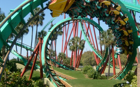 Top 5 Theme Parks And Amusement Parks In Tampa!
