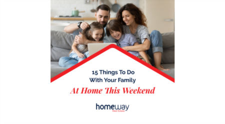 15 Things to Do with Your Family at Home This Weekend