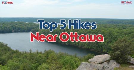 Top 5 Hikes Near Ottawa