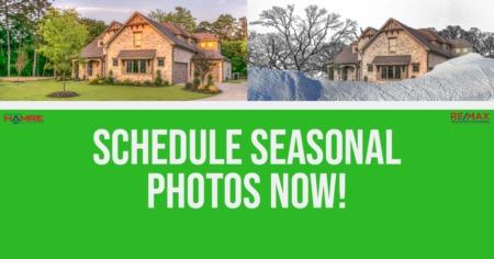 Schedule Seasonal Photos Today