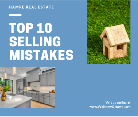 Top 10 Home Selling Mistakes