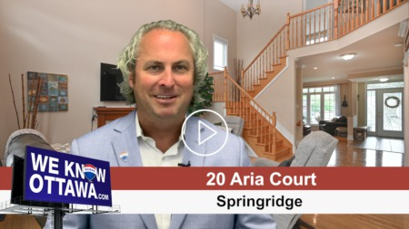 NEW LISTING - 20 ARIA COURT - SPRINGRIDGE