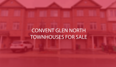 Convent Glen North Detached and Stacked Townhouses For Sale - Sept 6