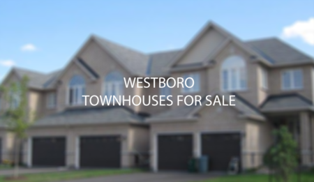 Westboro Detached and Stacked Townhouses For Sale