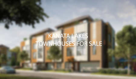 Kanata Lakes Detached and Stacked Townhouses For Sale