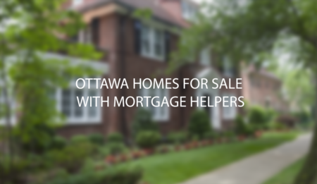 Ottawa Homes For Sale With In-law Suites / Mortgage Helpers