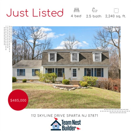 JUST LISTED- 112 Skyline Drive Sparta