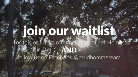 JOIN OUR WAITLIST- Niner Homes Opportunities
