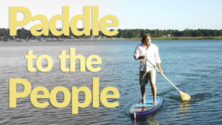 Anything but Bland- Paddle to the People
