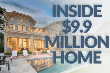 Special inside look at this $9.9 million dollar oceanfront in Sea Pines!