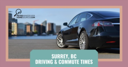 Surrey Driving & Commute Times