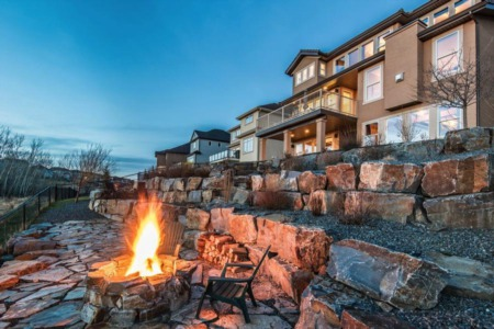 Luxury Home in Calgary's Tuscany Neighbourhood Offers Insane Mountain & Golf Course Views