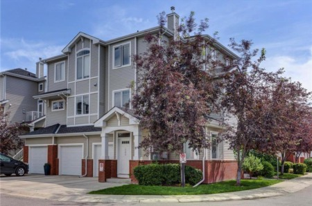 New Listing Alert: Incredible 3-Storey Row Home in Calgary's Springside Villas Neighbourhood