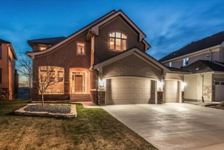 413 Tuscany Estates in Calgary Offers Stunning Mountain Views, Upscale Features