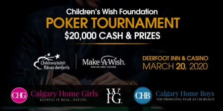 Annual Children's Wish Poker Tournament Details Announced