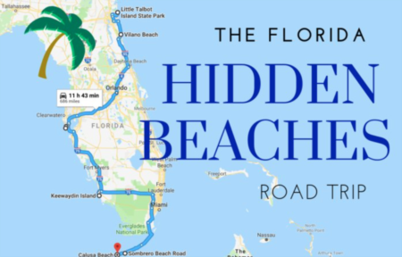 The Hidden Beaches Road Trip That Will Show You Florida Like Never Before