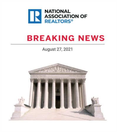 Breaking News! Supreme Court ends Eviction Moratorium