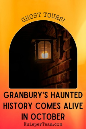 Granbury's Haunted History Comes Alive in October