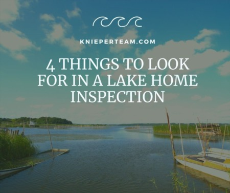 4 Things to Look for in a Lake Home Inspection