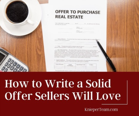 How to Write a Solid Offer Sellers Will Love