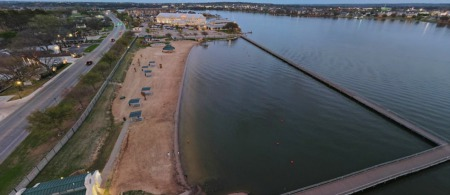 Granbury City Beach is Well Cared For
