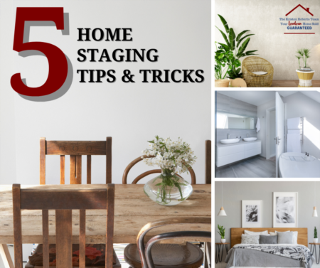 5 Home Staging tips & tricks