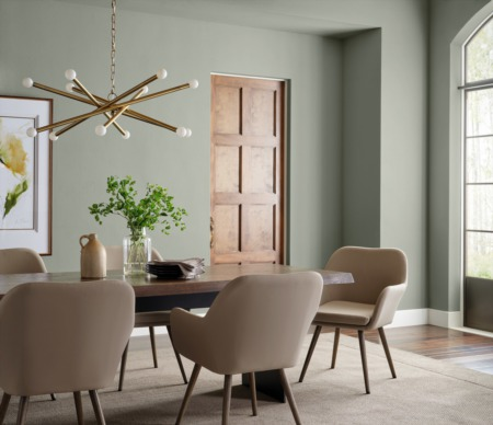 Choices for 2022 Color of the Year: Green Is Gold