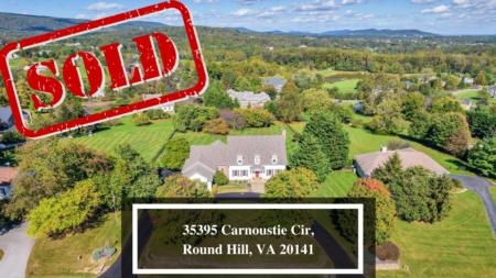 COMING SOON: 35395 Carnoustie Cir, Round Hill, VA 20141
