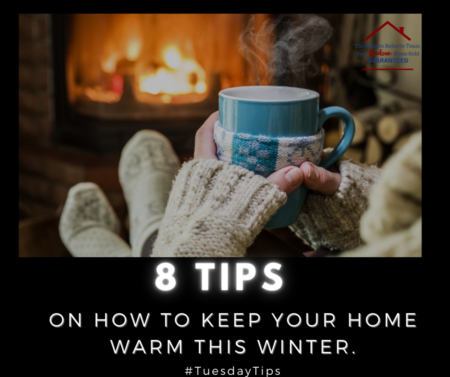 8 Tips on How To Keep Your Home Warm This Winter