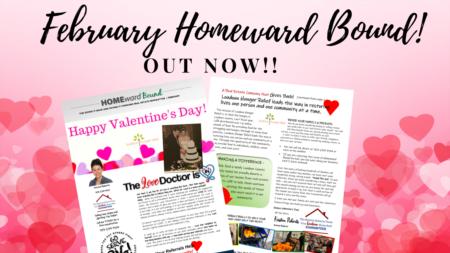 February 2021 Homeward Bound!