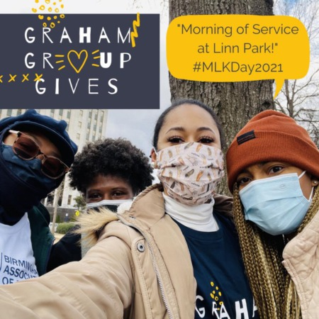 Graham Group Gives over 158 Supplies for MLK National Day of Service