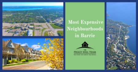 Most Expensive Neighbourhoods in Barrie, ON