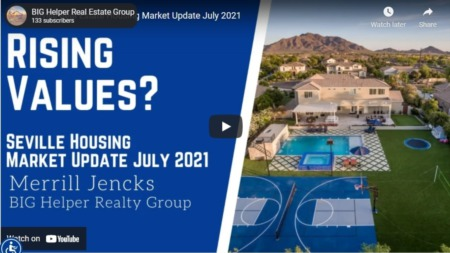 Seville Real Estate Housing Market Update July 2021
