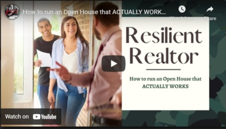 How to run an Open House that ACTUALLY WORKS! - Resilient Realtor #4