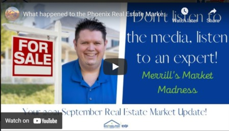What happened to the Phoenix Real Estate Market in September 2021? - Merrill's Market Madness #68